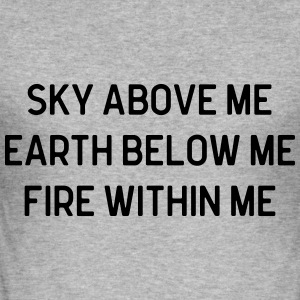 Sky Above Me Sweaters - slim fit T-shirt