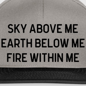 Sky Above Me Bags & Backpacks - Snapback Cap