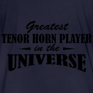 Greatest Tenor Horn Player in the universe Tröjor - Ekologisk T-shirt herr