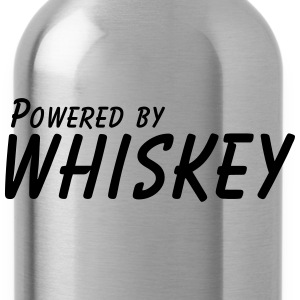 powered by whiskey T-Shirts - Trinkflasche