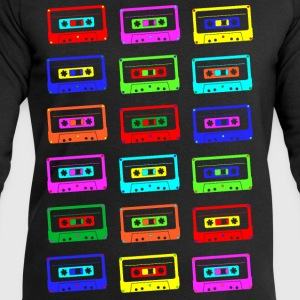 Colourful Cassette Tapes T-Shirts - Men's Sweatshirt by Stanley & Stella