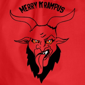 Merry Krampus Nikolaus Shirts - Drawstring Bag