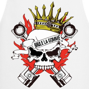 skull king motard Sweat-shirts - Tablier de cuisine
