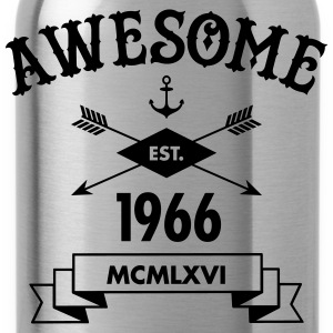 Awesome Est. 1966 T-Shirts - Trinkflasche