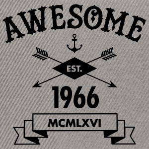 Awesome Est. 1966 T-Shirts - Snapback Cap