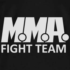 MMA FIGHT TEAM Bags & Backpacks - Men's Premium T-Shirt