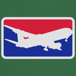 sports logo red blue pilot hobby pilot aircraft T-Shirts - Cooking Apron