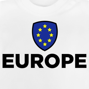 The Union Flag of Europe Long Sleeve Shirts - Baby T-Shirt