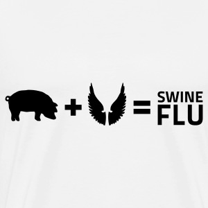 The swine flu Tops - Men's Premium T-Shirt