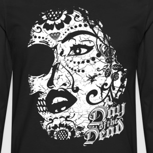 Sugar Lady - Day of the Dead T-Shirts - Männer Premium Langarmshirt
