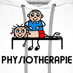 Physiotherapist Physio T-Shirts - Men's Premium Hoodie