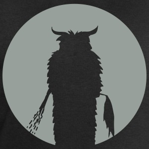 Moon with Krampus Silhouette T-Shirts - Men's Sweatshirt by Stanley & Stella