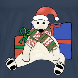 Christmas polar bear t-shirt for teenagers - Men's Premium T-Shirt