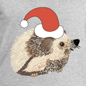 Christmas hedgehog t-shirt for teenagers - Men's Sweatshirt by Stanley & Stella