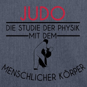 Studie der Physik | Judo T-Shirts - Schultertasche aus Recycling-Material