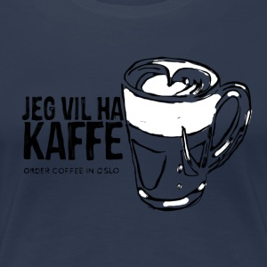 coffee lover - Vrouwen Premium T-shirt