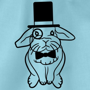 Sir Lord cylinder monocle gentleman glasses fly po T-Shirts - Drawstring Bag