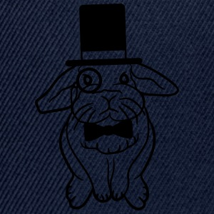 Sir Lord cylinder monocle Gentleman glasögon flyga T-shirts - Snapbackkeps