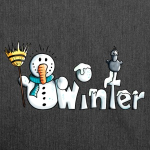 Happy Winter Pullover & Hoodies - Schultertasche aus Recycling-Material