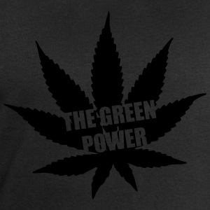 The green Power - Cannabis Tee shirts - Sweat-shirt Homme Stanley & Stella