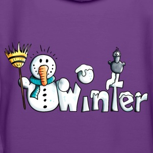 Happy Winter T-Shirts - Frauen Premium Hoodie
