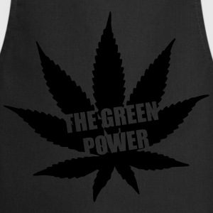 The green Power - Cannabis T-shirts - Keukenschort
