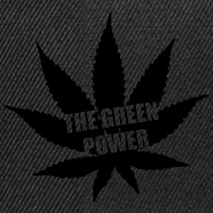 The green Power - Cannabis Borse & zaini - Snapback Cap