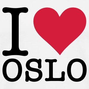 I love Oslo Mugs & Drinkware - Men's Premium T-Shirt