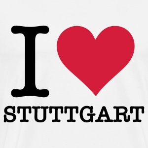 I Love Stuttgart Tops - Men's Premium T-Shirt