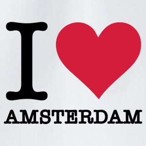 I love Amsterdam Mugs & Drinkware - Drawstring Bag
