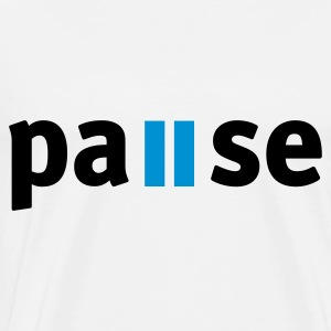 Pause Toppe - Herre premium T-shirt