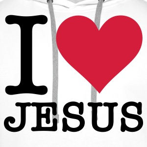 I Love Jesus Sports wear - Men's Premium Hoodie