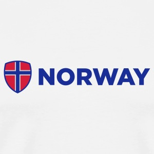 National Flag of Norway Mugs & Drinkware - Men's Premium T-Shirt
