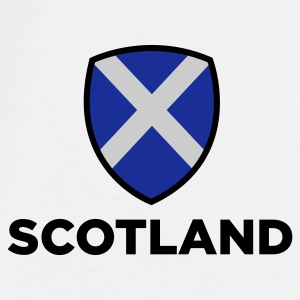 National Flag of Scotland Mugs & Drinkware - Men's Premium T-Shirt