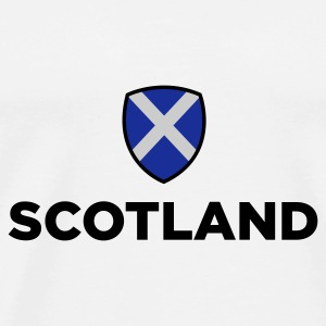 National Flag of Scotland Kasketter & Huer - Herre premium T-shirt