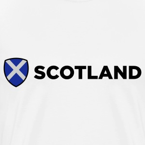 National Flag of Scotland Polo Shirts - Men's Premium T-Shirt