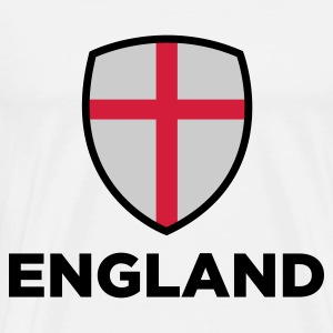 Nationale flag England Toppe - Herre premium T-shirt