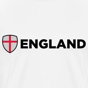 National flag of England Polo Shirts - Men's Premium T-Shirt