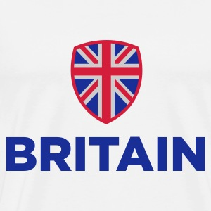 National flag of Great Britain Long Sleeve Shirts - Men's Premium T-Shirt