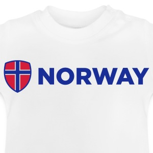 Nationale Vlag van Noorwegen Shirts - Baby T-shirt
