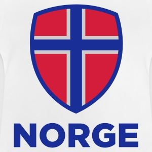National Flag of Norway Hoodies - Baby T-Shirt