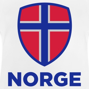 National Flag Norge Sweatshirts - Baby T-shirt