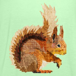 Red Squirrel Shirts - Women's Tank Top by Bella