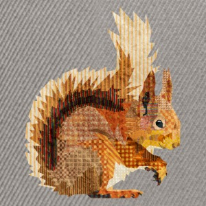 Red Squirrel Shirts - Snapback Cap
