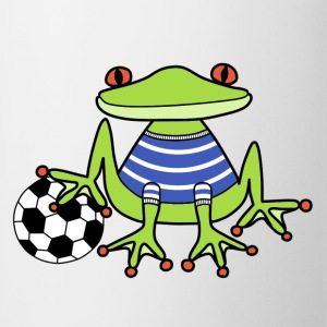 Football frog t-shirt for kids - Mug