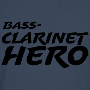 Bass Clarinet Hero T-Shirts - Men's Premium Longsleeve Shirt