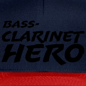 Bass Clarinet Hero T-Shirts - Snapback Cap