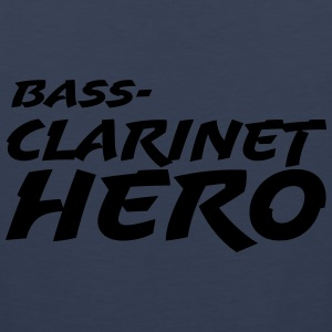 Bass Clarinet Hero T-Shirts - Männer Premium Tank Top