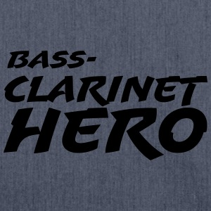 Bass Clarinet Hero T-shirts - Skuldertaske af recycling-material