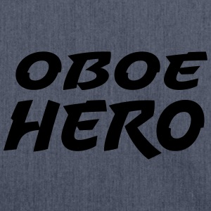 Oboe Hero T-Shirts - Schultertasche aus Recycling-Material